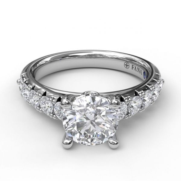 Next Generation Petite Prong Engagement Ring Image 2 Skaneateles Jewelry Skaneateles, NY