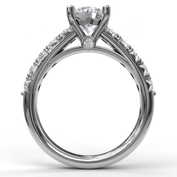 Next Generation Petite Prong Engagement Ring Image 3 Skaneateles Jewelry Skaneateles, NY