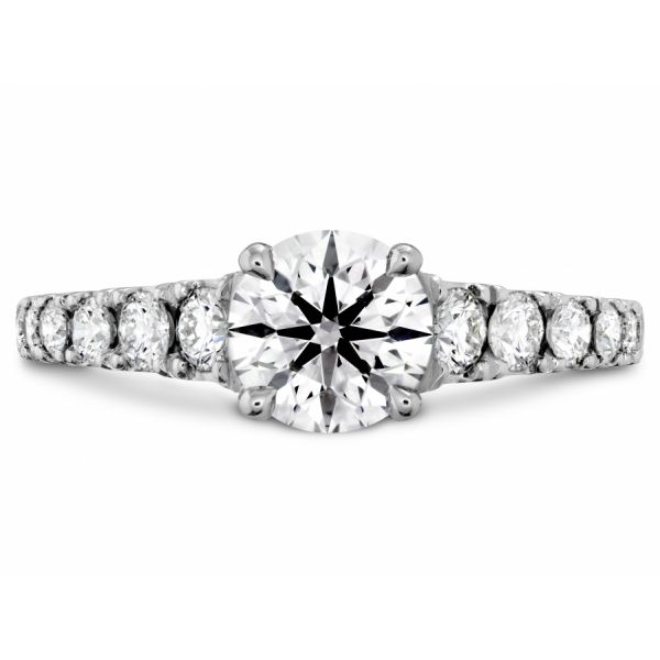 Hearts on Fire Transcend Premier Engagement Ring Skaneateles Jewelry Skaneateles, NY