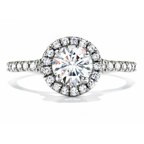 Hearts on Fire Transcend Engagement Ring Skaneateles Jewelry Skaneateles, NY
