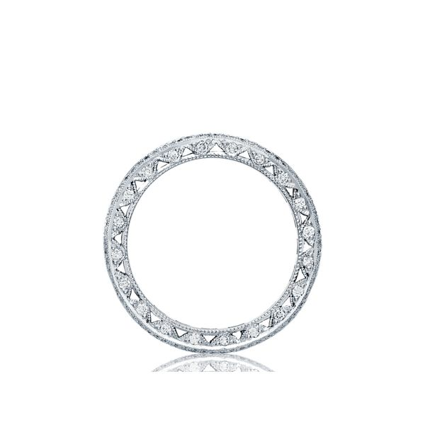 Tacori Classic Crescent Eternity Wedding Band Image 2 Skaneateles Jewelry Skaneateles, NY