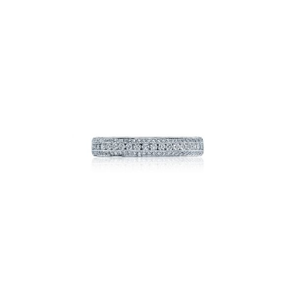 Tacori Classic Crescent Eternity Wedding Band Skaneateles Jewelry Skaneateles, NY