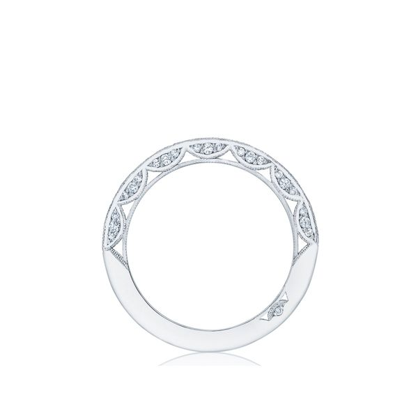 Tacori Classic Crescent Wedding Band Image 2 Skaneateles Jewelry Skaneateles, NY