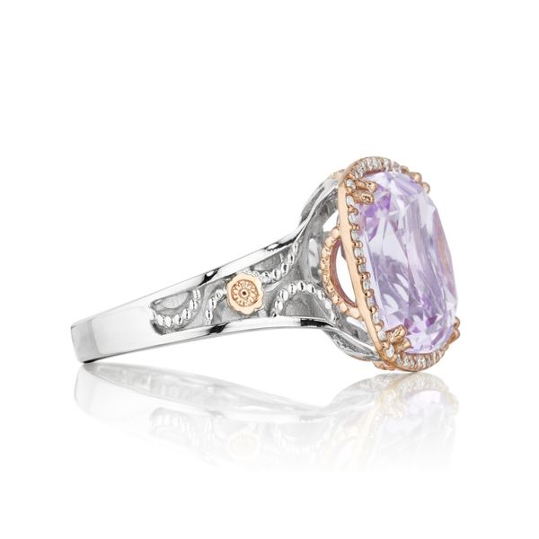 Tacori Lilac Blossoms Bold Crescent Crown Ring Image 2 Skaneateles Jewelry Skaneateles, NY