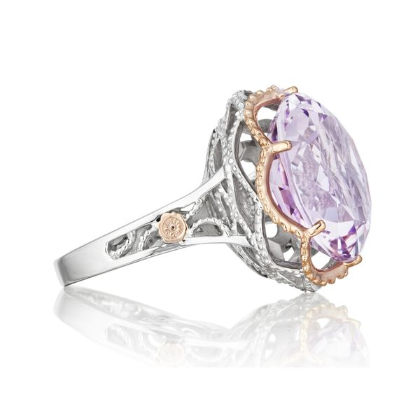 Tacori Lilac Blossoms Budding Crescent Ring Image 2 Skaneateles Jewelry Skaneateles, NY