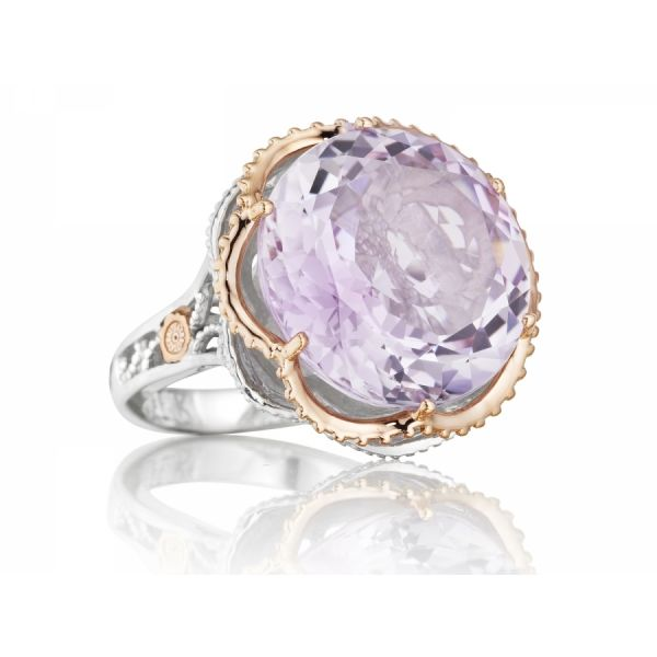 Tacori Lilac Blossoms Budding Crescent Ring Skaneateles Jewelry Skaneateles, NY
