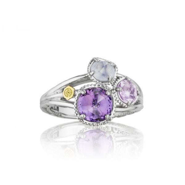 Tacori Lilac Blossoms Petite Budding Brilliance Ring Skaneateles Jewelry Skaneateles, NY