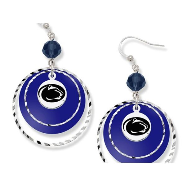 Penn State University Game Day Earrings Confer's Jewelers Bellefonte, PA