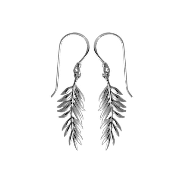 ab271f50b Boma Fern Earrings EDB4242 SS - Earrings | Darrah Cooper, Inc. | Lake  Placid, NY