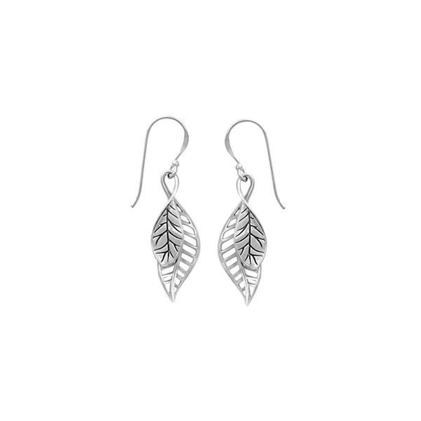 Leaf Earrings Darrah Cooper, Inc. Lake Placid, NY