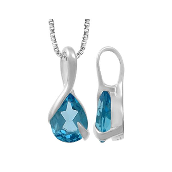 Blue Topaz Necklace Darrah Cooper, Inc. Lake Placid, NY