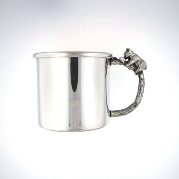 Pewter Baby Cup-Bear Darrah Cooper, Inc. Lake Placid, NY