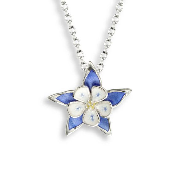 Enamel Columbine Necklace Darrah Cooper, Inc. Lake Placid, NY