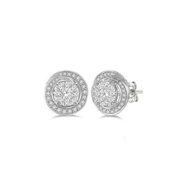 SUNBRIGHT DIAMOND EARRINGS Diamonds Direct St. Petersburg, FL
