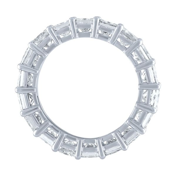 Asscher Cut Eternity Band Image 3 Forever Diamonds New York, NY