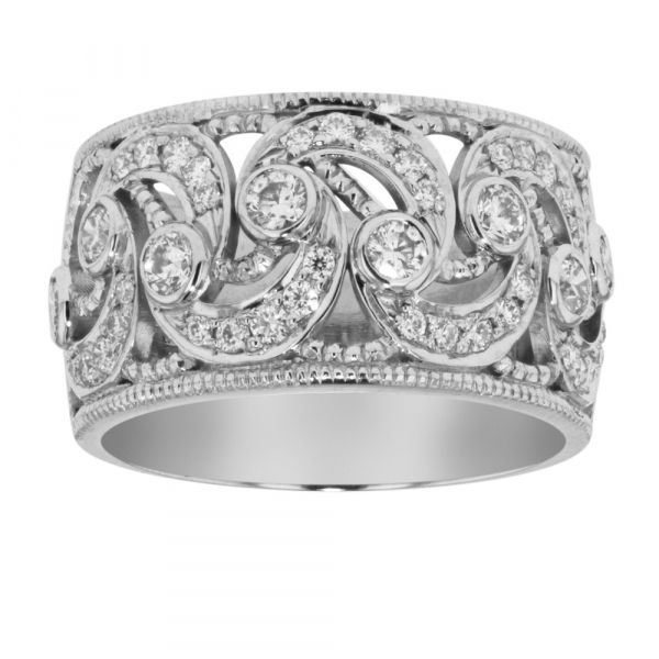 BAND107-Ornate-diamond-band-with-scrolling-curves