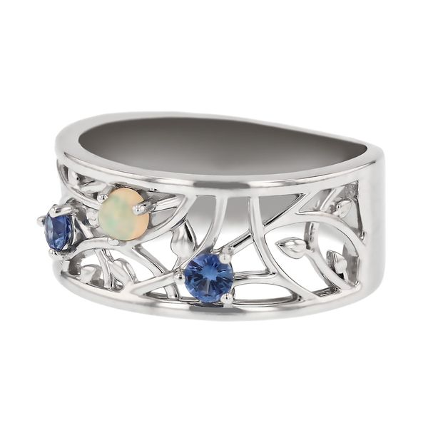 Mother's Ring with Children's Birthstones Image 2 Fox Fine Jewelry Ventura, CA