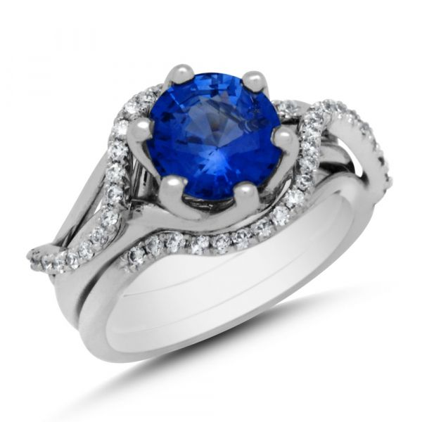 DER112-round-blue-sapphire-engagement-ring-and-wedding-band