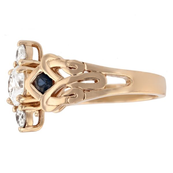 DER123-Diamond-and-Sapphire-Celtic-Ring2