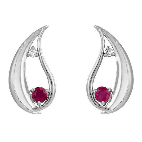 ER104-Ruby-and-diamond-water-drop-earrings