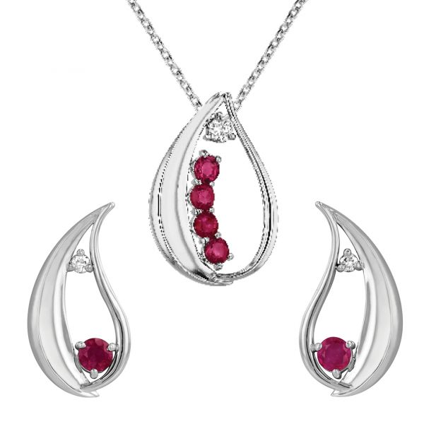 ER104-Ruby-and-diamond-water-drop-earrings2