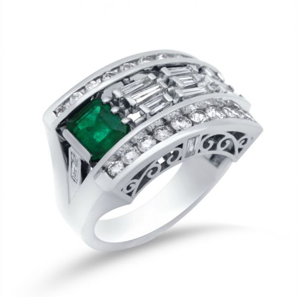ladies-custom-emerald-baguette-diamond-wide-band-in-platinum-small-angle