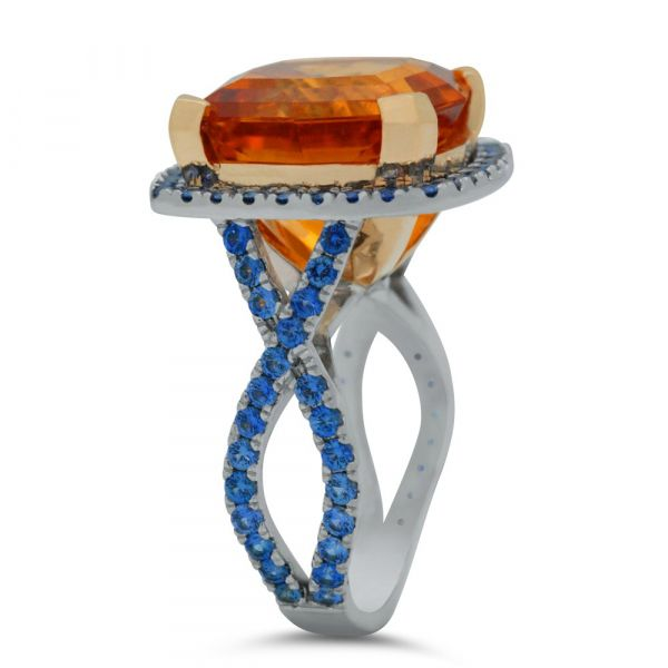 custom-orange-sapphire-blue-sapphire-cushion-cut-ring-east-west