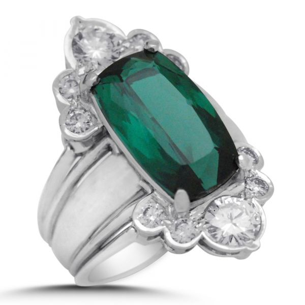 FR110-cushion-cut-green-tourmaline-wide-halo-ring-white-gold-angle