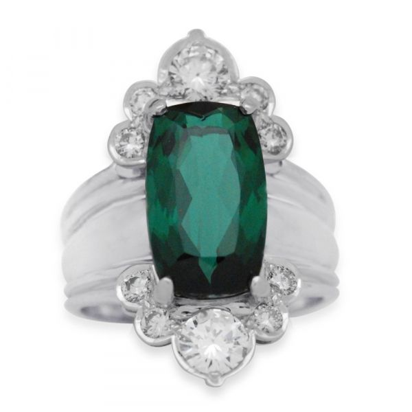 FR110-cushion-cut-green-tourmaline-wide-halo-ring-white-gold-straight