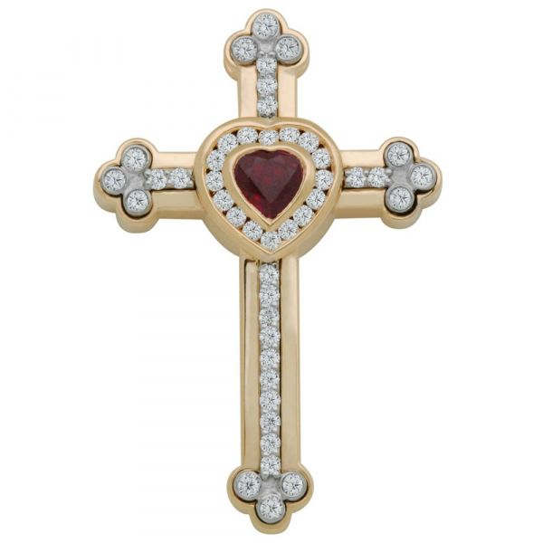 custom-ruby-and-diamond-cross-with-heart-yellow-and-white-gold