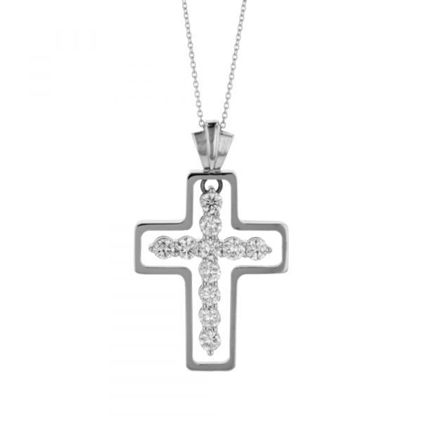 NK106-Diamond-cross-pendant-with-white-gold-frame