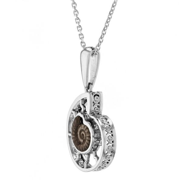 NK110-Ammonite-fossil-pendant-in-white-gold2