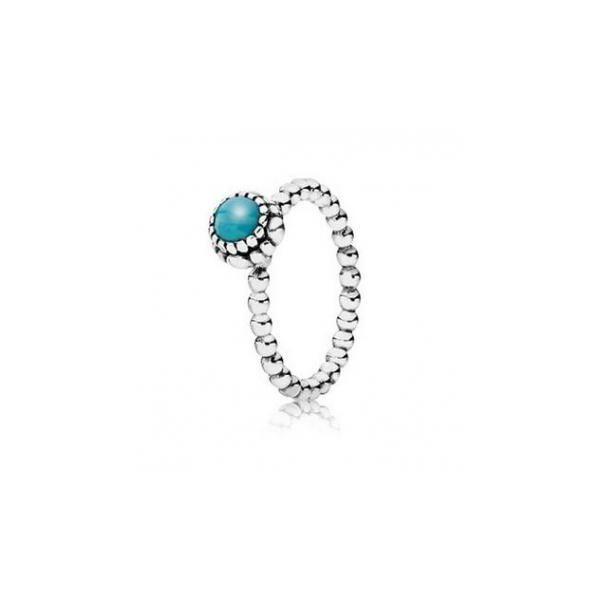 Pandora Pandora Turquoise Birthstone Ring 190854tq Aliquippa