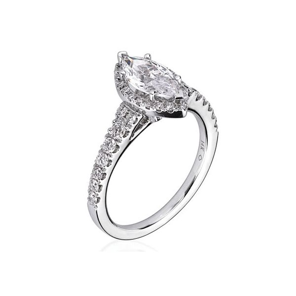 14KW Ladies Diamond Engagement Ring Semi-Mount  Jones Jeweler Celina, OH