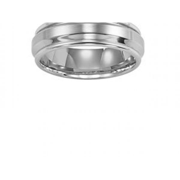 BEVEL CENTER STAINLESS STEEL BAND Image 2  ,