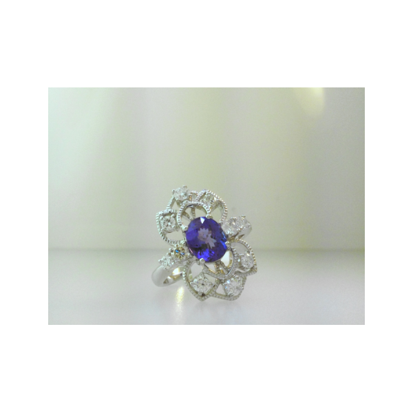 Tanzanite Bloom Ring The Diamond Center Claremont, CA
