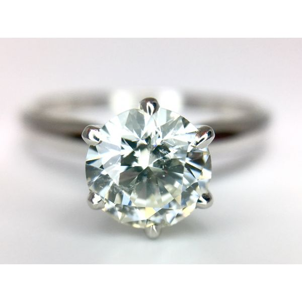 Solitaire Engagement Ring Image 2  ,