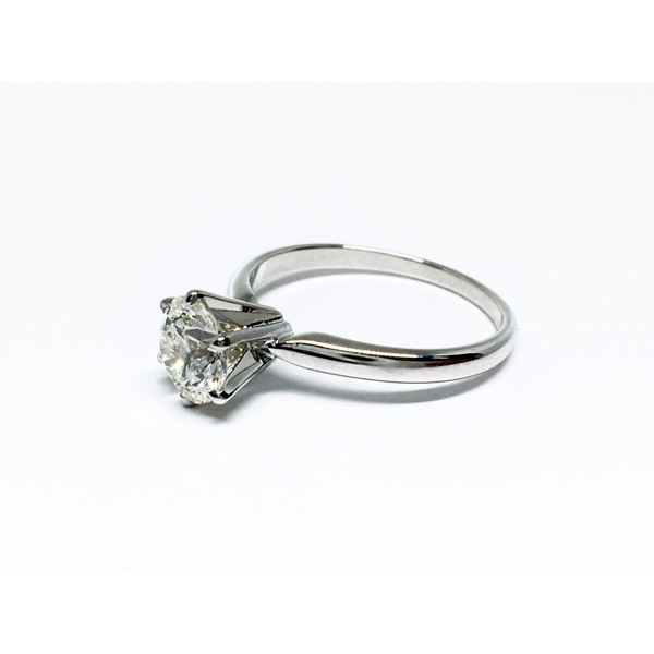 Solitaire Engagement Ring Image 3  ,