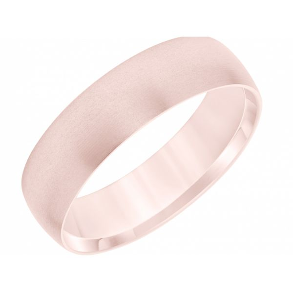 14K Rose Gold Brushed Band  Martin Busch Inc. New York, NY