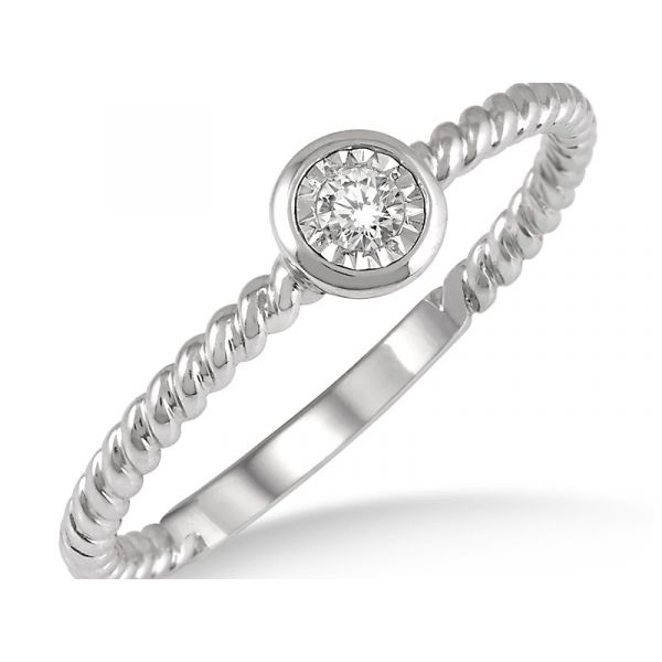 Diamond Promise Ring Martin Busch Inc. New York, NY