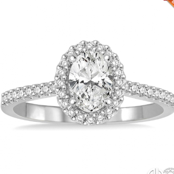 Oval Shape Diamond Engagement Ring Image 2 Martin Busch Inc. New York, NY