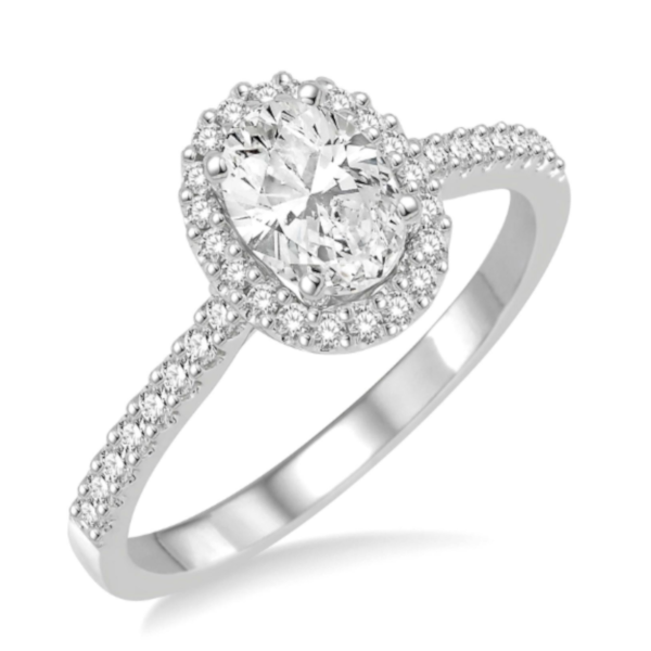 Oval Shape Diamond Engagement Ring Martin Busch Inc. New York, NY