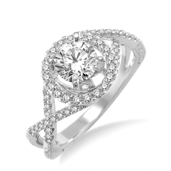Infinity Inspired Engagement Ring  Martin Busch Inc. New York, NY