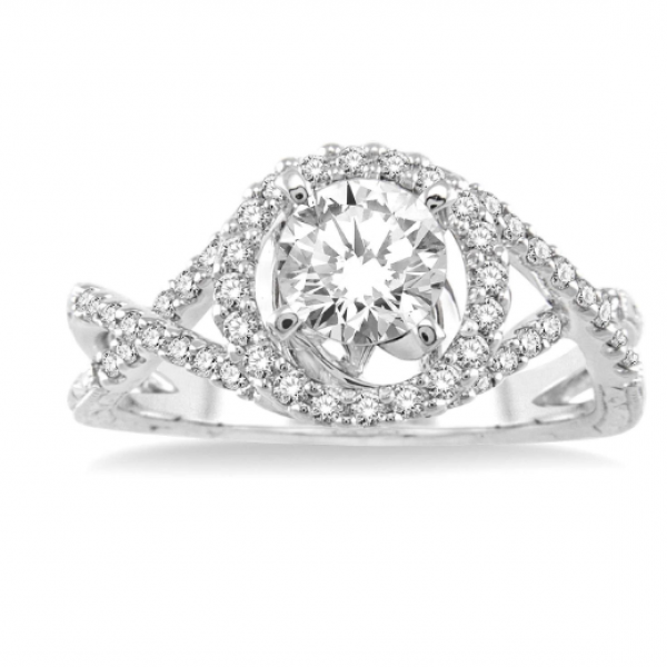 Infinity Inspired Engagement Ring  Image 2 Martin Busch Inc. New York, NY