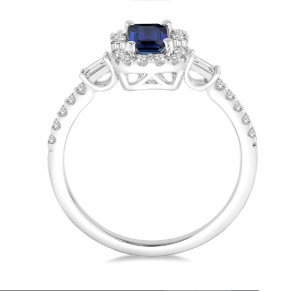 Diamond & Gemstone Ring Image 3  ,