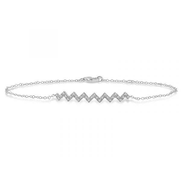 Diamond Zig Zag Bracelet  Martin Busch Inc. New York, NY