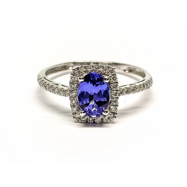Tanzanite & Diamond Ring Martin Busch Inc. New York, NY