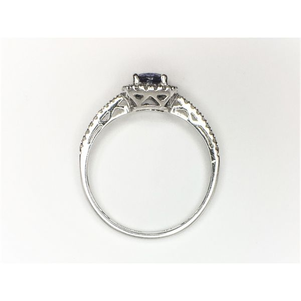 Tanzanite & Diamond Ring Image 2 Martin Busch Inc. New York, NY