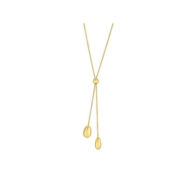 Lariat Gold Necklace  Martin Busch Inc. New York, NY