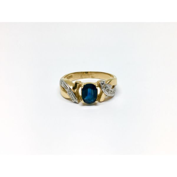 Vintage Sapphire Ring Martin Busch Inc. New York, NY